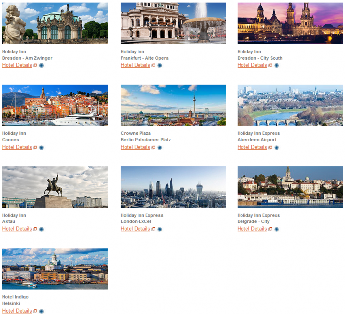 IHG Rewards Club New Hotels Introductory Offers September 2015 Hotels 2