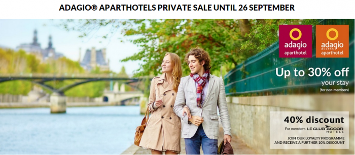Le Club Accorhotels Adagio 40 Percent Off Private Sale
