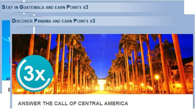 Le Club Accorhotels Panama & Guatemala Triple Points September 21 - December 31 2015