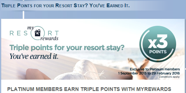 Le Club Accorhotels Platinum Triple Points Asia-Pacific Resorts September 1 February 29 2016