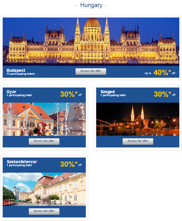 Le Club Accorhotels Weekly Private Sales Hungary 1