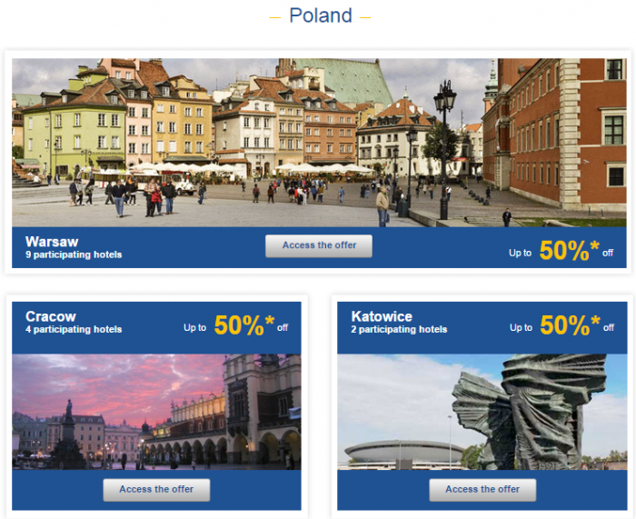 Le Club Accorhotels Weekly Private Sales Sep 22 Poland 1