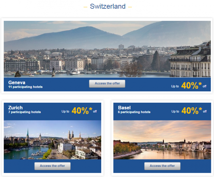 Le Club Accorhotels Weekly Private Sales Sep 22 Switzerland 1