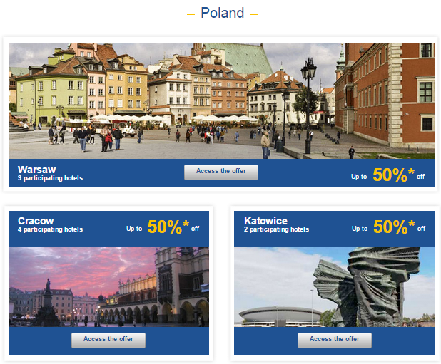 Le Club Accorhotels Weekly Private Sales Sep 9 Poland 1