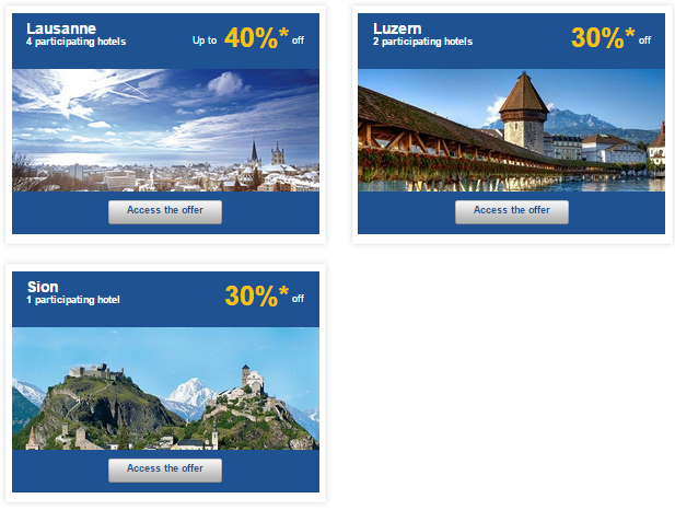 Le Club Accorhotels Weekly Private Sales Switzerland 2