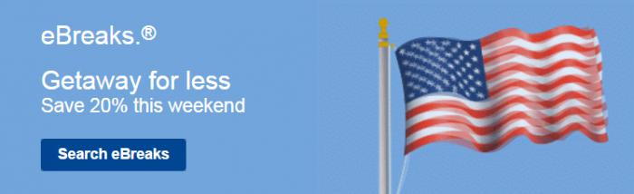 Marriott eBreaks September 10 - 13 2015