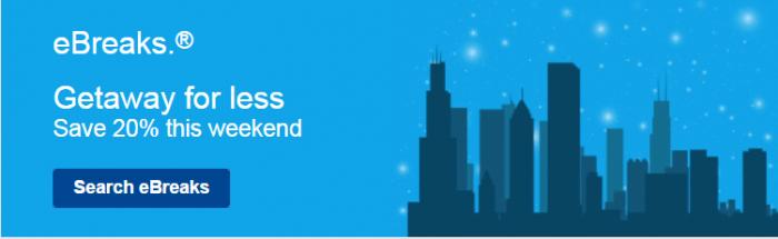 Marriott eBreaks September 17 - 20 2015