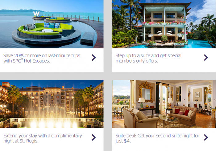 SPG Dashboard Update Rate Offers