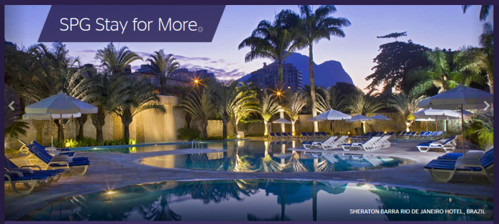 Starwood Preferred Guest SPG Stay For More October 1 December 20 2015