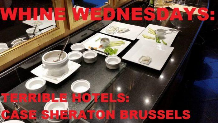 Whine Wednesdays Sheraton Club Lounges Case Sheraton Brussels