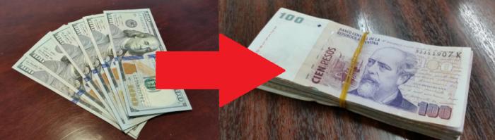 Buenos Aires Dolar Blue Cash