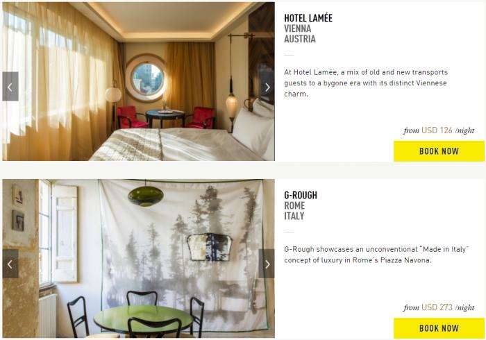 Design Hotels 40 Percent Off Sale Hotels 5