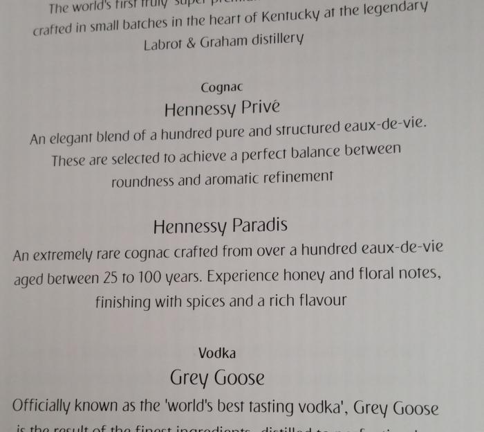 Fabulous Fridays Fun In The Skies Cognac List