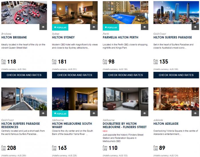 Hilton Asia Pacific Deals Website Australia New Zealand South Pacific