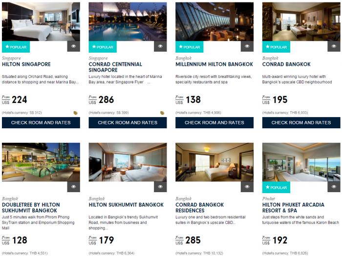 Hilton Asia Pacific Deals Website Southeast Asia