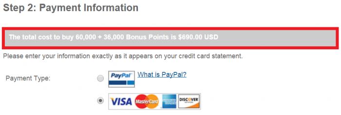 IHG Rewards Club Buy Points 60 Percent Bonus October 2015 Price