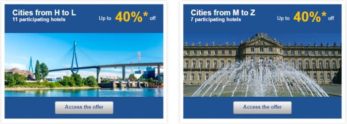 Le Club AccorHotels Weekly Sales Oct 27 Germany 2