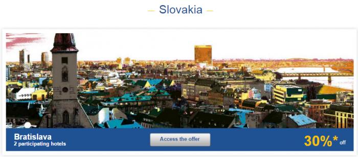 Le Club AccorHotels Weekly Sales Oct 27 Slovakia 1