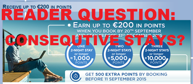 Reader Question Le Club AccorHotels 10,000 Promotion Consecutive Stays