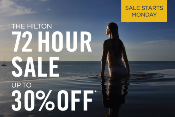 Hilton HHonors Cyber Monday Americas Sale November 30 December 2 2015