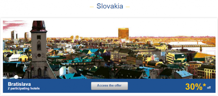 Le Club AccorHotels Europe Private Sales Nov 10 Slovakia 1