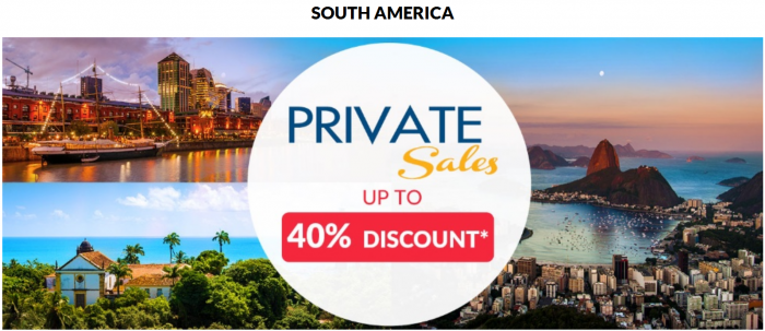 Le Club AccorHotels November 2015 Private Sales South America
