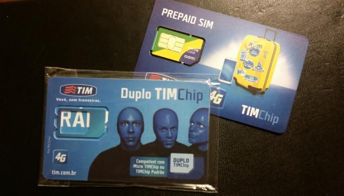 Faubous Fridays TIM Visitor Sim Card For Brazil Card