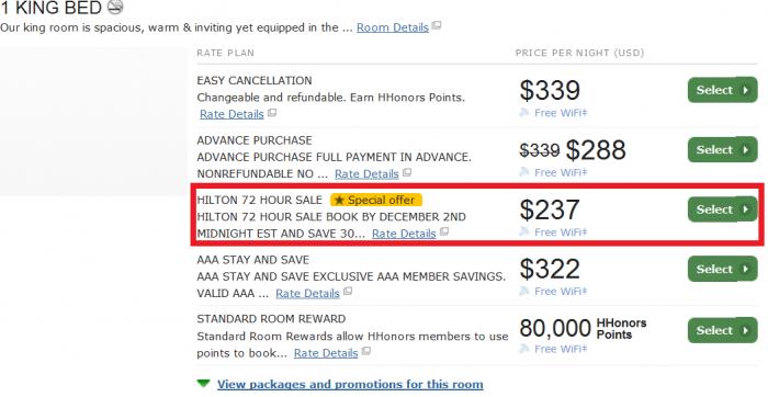 Hilton HHonors 72 Hour Up TO 30 Percent Off Americas Sale Hilton Garden Inn Miami South Beach - Royal Polo