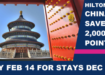 Hilton HHonors Greater China Up To 25 Percent Off Stay + 2,000 Bonus Points