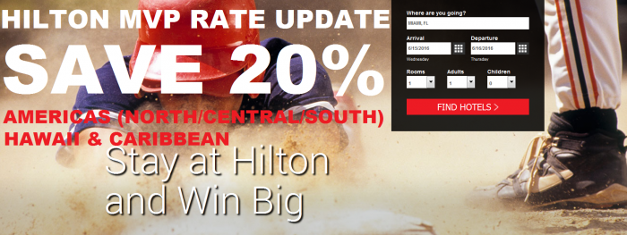 Hilton HHonors MVP Changes