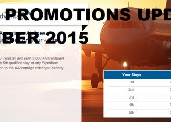 Hotel Promotions Update December 2015