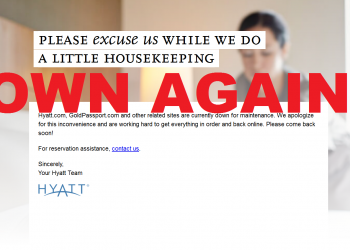 Hyatt Down AGAIN