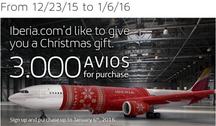 Iberia Plus Christmas Gift