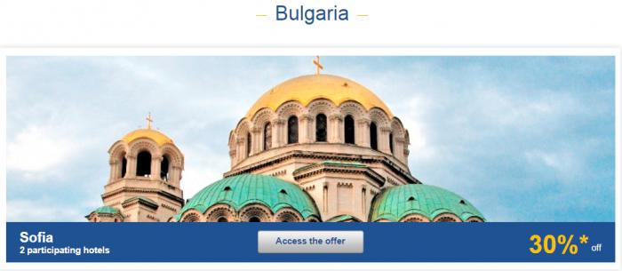 Le Club AccorHotels Europe Private Sales December 2 2015 Bulgaria