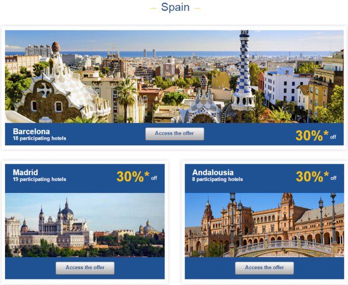 Le Club AccorHotels Europe Private Sales December 2 2015 Spain 1