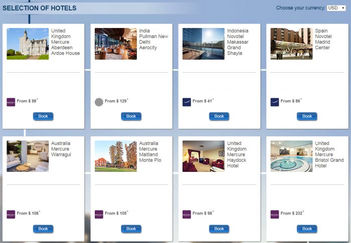 Le Club AccorHotels Quadruple Miles Select New Hotels December 1 - January 31 2016 Hotels