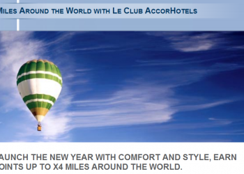 Le Club AccorHotels Thai Airways Royal Orchid Plus Up To Quadruple Miles January 1 - March 31 2016