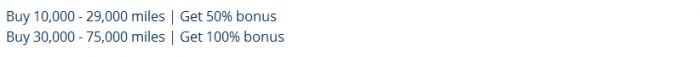 UNited Airlines Buy MileagePlus Miles Up To 100 Percent Bonus December 15 - 18 2015 Bonus
