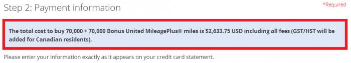 UNited Airlines Buy MileagePlus Miles Up To 100 Percent Bonus December 15 - 18 2015 Price