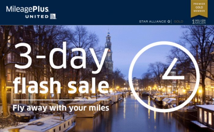 United Airlines Buy MileagePlus Miles Up TO 50 Percent Off December 31 2015