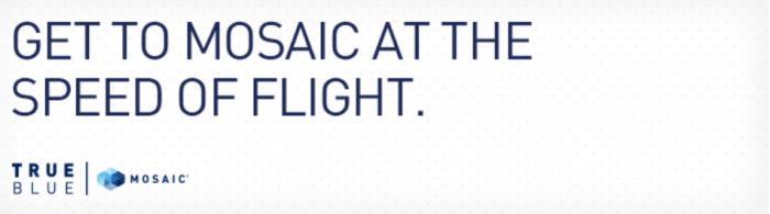 JetBlue TrueBlue Double Mosaic Qualifying Base Points Until February 29 2016