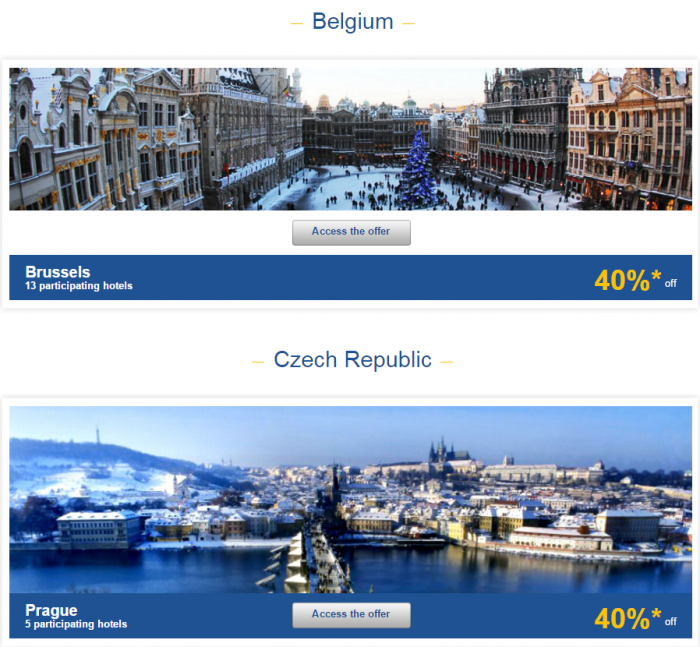 Le Club AccorHotels Europe Private Sales January 19 - 25 2016 1