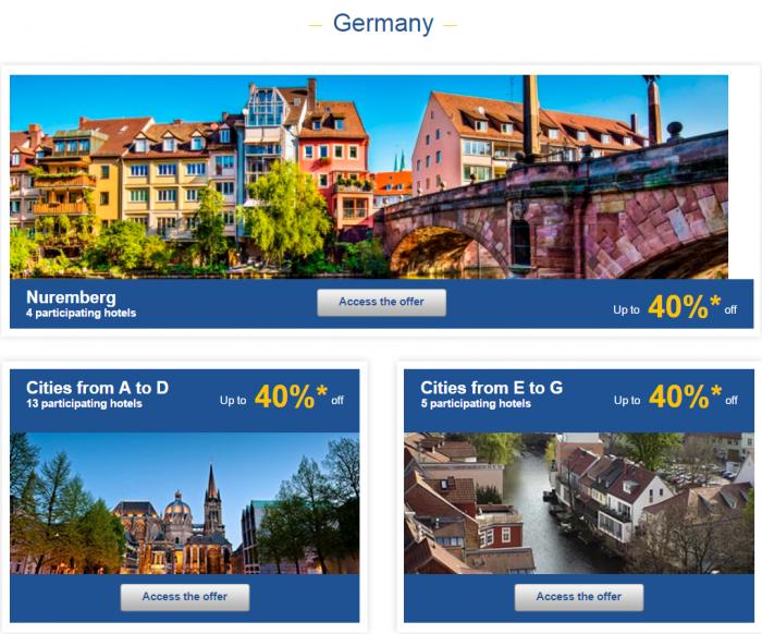 Le Club AccorHotels Europe Private Sales January 26 - February 1 2016 Germany 1