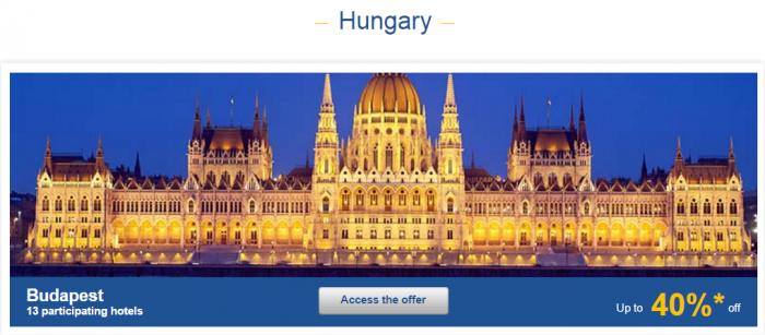 Le Club AccorHotels Europe Private Sales January 26 - February 1 2016 Hungary 1