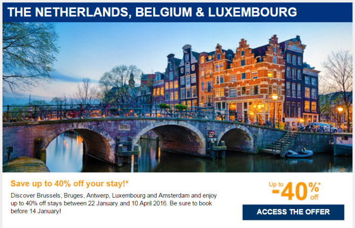 Le Club AccorHotels January 2016 Private Sales Benelux