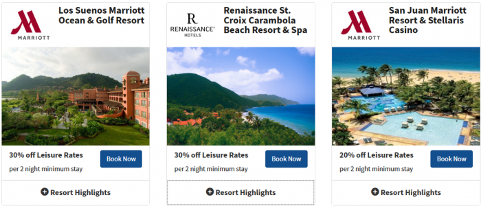 Marriott Rewards Time Is Money Caribbean & Latin America Sale 4