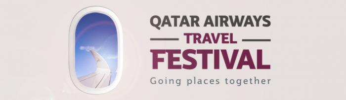 Qatar Airways Travel Festival & Triple Qmiles