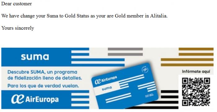 AirEuropa SUMA Status Match Reply