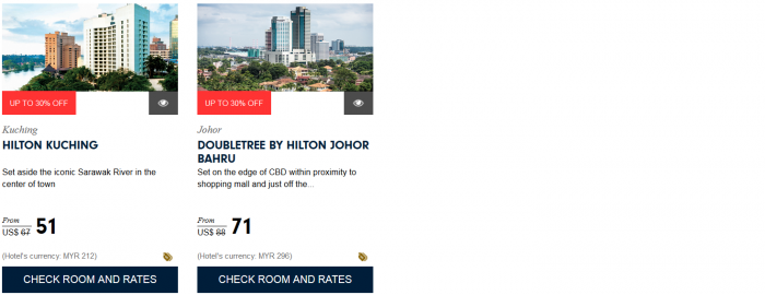 Hilton HHonors Asia Pacific Up To 30 Percent Off Sale For Stays December 31 2016 Malaysia 2