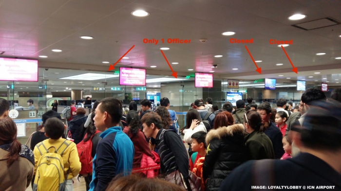 ICN Immigration Counters